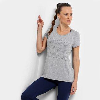 34c769b3a6b Camiseta Gonew Wrk Out Abertura Costas Feminina