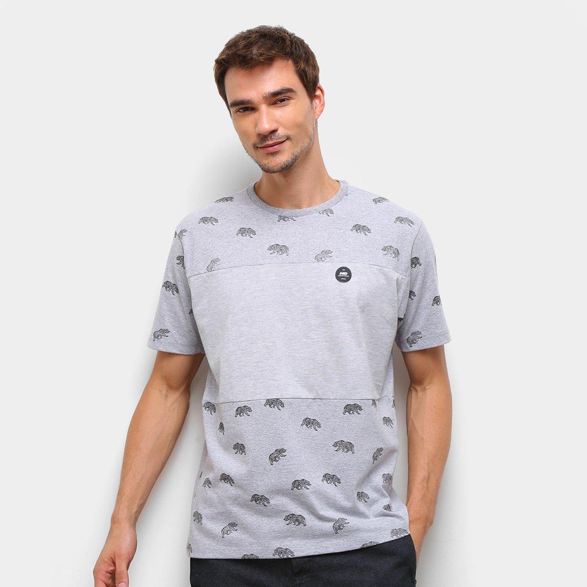 Camiseta Hd Bear Masculina