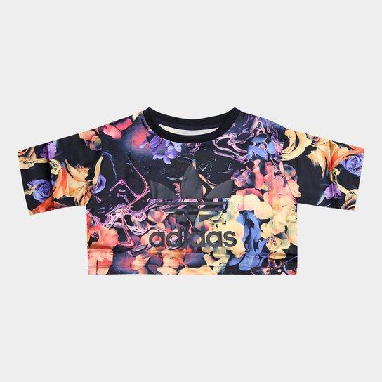 Camiseta Infantil Adidas Rose J Feminina - Compre Agora  17ed4cd4e8f