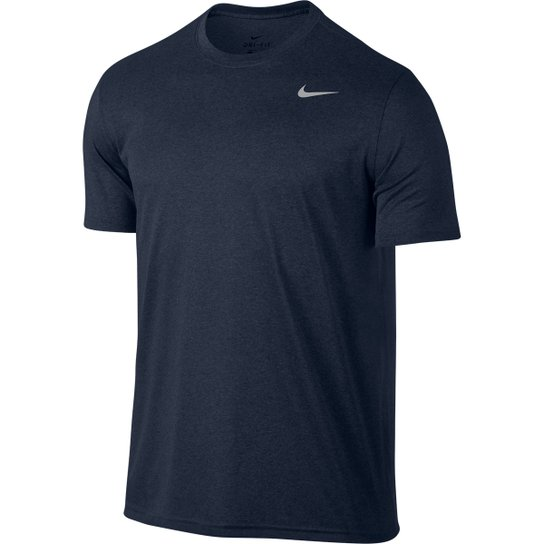 7139a0384d028 Camiseta Nike Legend 2.0 Ss Masculina - Marinho e Cinza - Compre ...