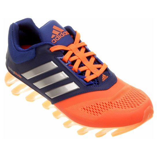 8654be6f7a2 Tênis Adidas Springblade Drive 2 Infantil - Laranja+Marinho