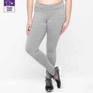 7dd364e0d Calça Legging Plus Size Fila NS Feminina
