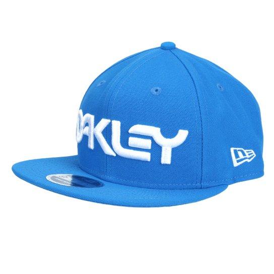 Boné Oakley Aba Reta Mark II Novelty Masculino - Azul - Compre Agora ... 2cce23c8990d1