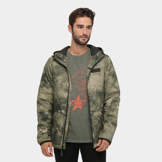 Jaqueta Oakley Chambers Primaloft Masculina - Verde Militar - Compre ... 9b99eca63a3