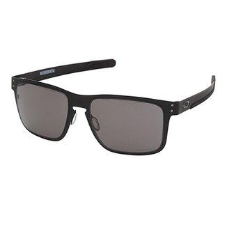 d2dfa677f Óculos Oakley Holbrook Metal Prizm 0OO4123 Masculino