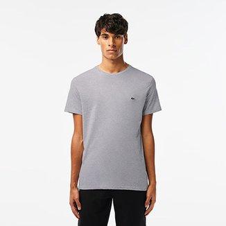 167ec1a475 Camiseta Lacoste Básica Jersey Masculina
