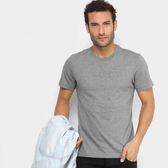 f6990ee89a8 Camiseta Lacoste Logo em Relevo Masculina - Compre Agora