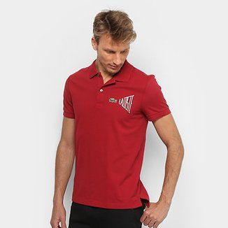 6697e62897fbe Camisas Polo e Roupas Lacoste em Oferta   Zattini