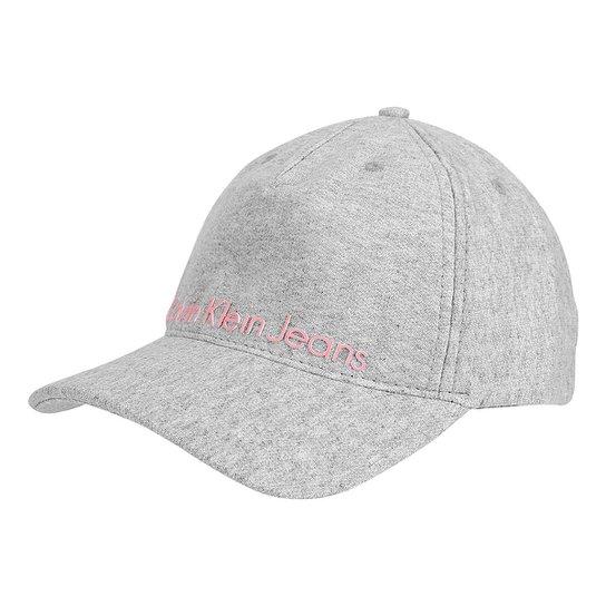 Boné Calvin Klein Aba Curva Moletom Logo Masculina - Compre Agora ... 8a6969710eb