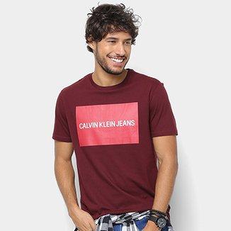 bf700e921016c Camiseta Calvin Klein Estampa Logo Masculina