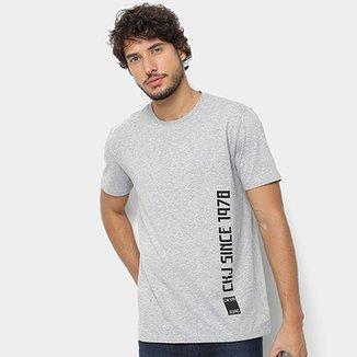 9282c5c8e Camiseta Calvin Klein Since 1978 Masculina