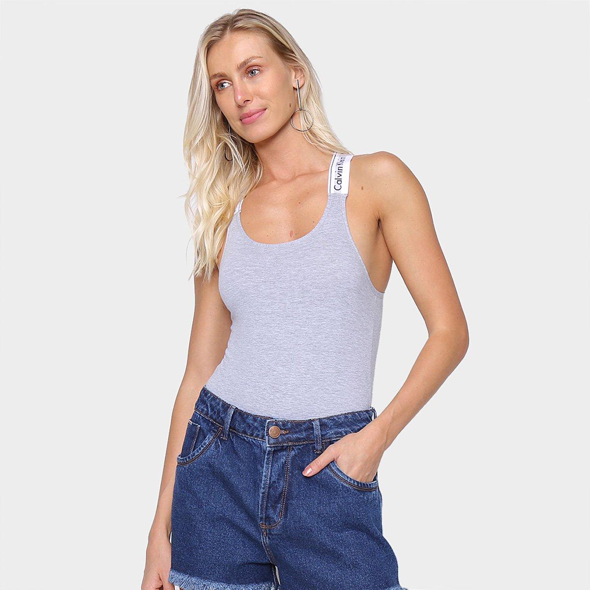 Body Calvin Klein Modern Cotton Feminino