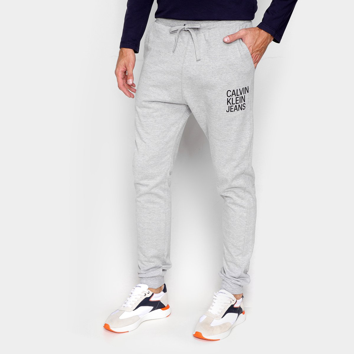 Calça Jogger Calvin Klein Estampada Masculina