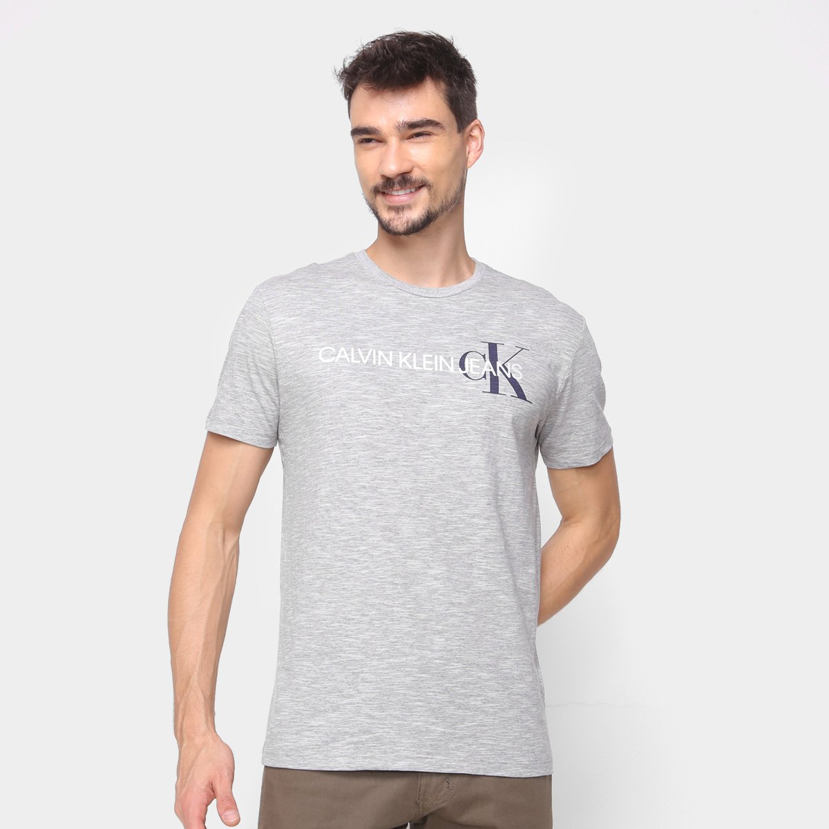 Camiseta Calvin Klein Logo Masculina