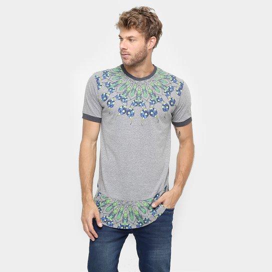 7d62cc1217 Camiseta Cavalera Long Estampada - Compre Agora