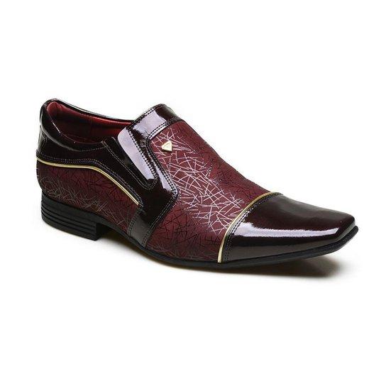 2cab3fd254 Sapato Social em Couro com Verniz Calvest - Compre Agora