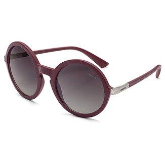 a1ddd51dd4919 Óculos de Sol Colcci Janis Couro Feminino