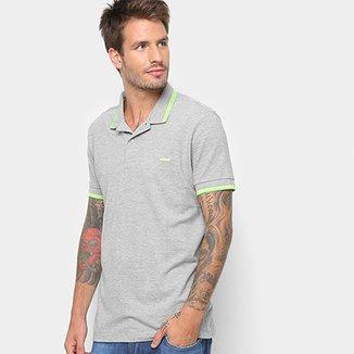 9a25856b87 Camisa Polo Colcci Detalhe Neon Masculina