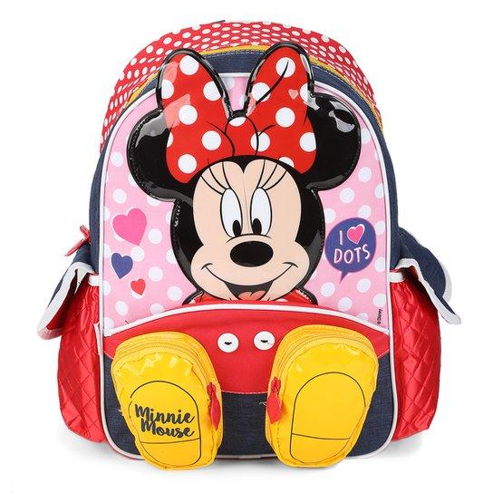 2200c894b Mochila Infantil Sestini Minnie Feminina - Colorido