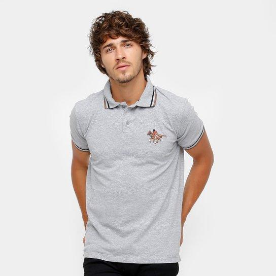7fd9424c3990f Camisa Polo RG 518 Malha Frisos Bordada Masculina - Mescla - Compre ...