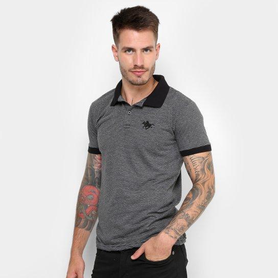 Camisa Polo Rg 518 Malha Listras Logo Metal Masculina - Compre Agora ... b0497c08ab567