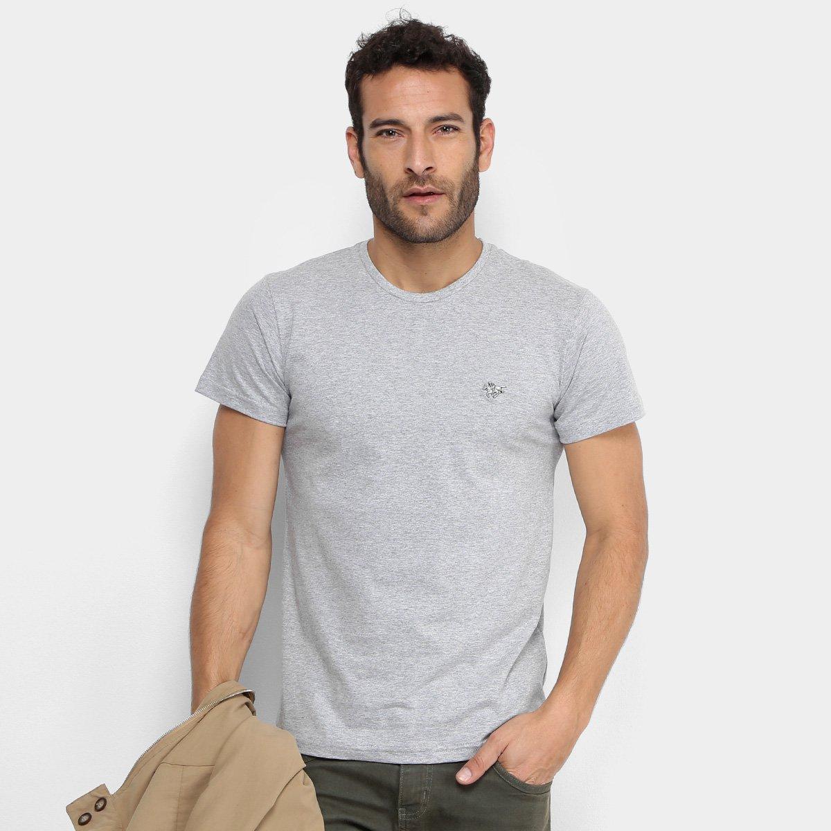 83c8a06db Camiseta RG 518 Com Plaquinha Masculina