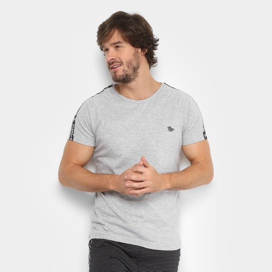 cca81457e4025 Camiseta Polo RG 518 Logo Metal Galão Ombro Masculina - Compre Agora ...