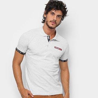 4afa163f12 Camisa Polo Polo RG 518 Lisa Masculina