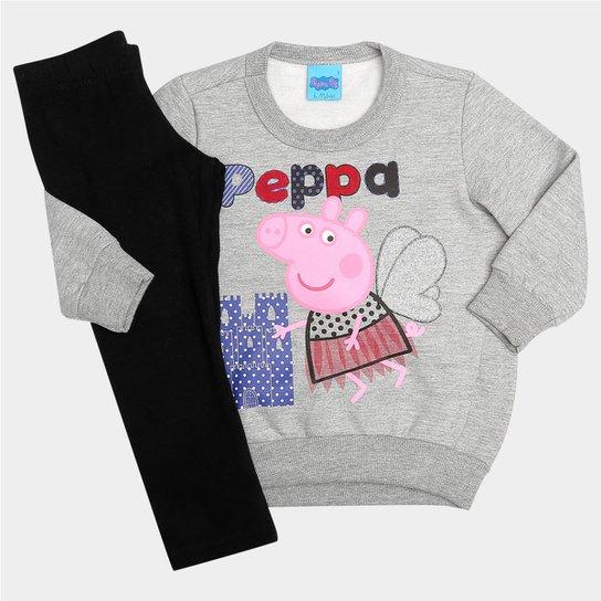 ffa3f8a2f08b4 Conjunto Malwee Peppa Pig Infantil - Compre Agora