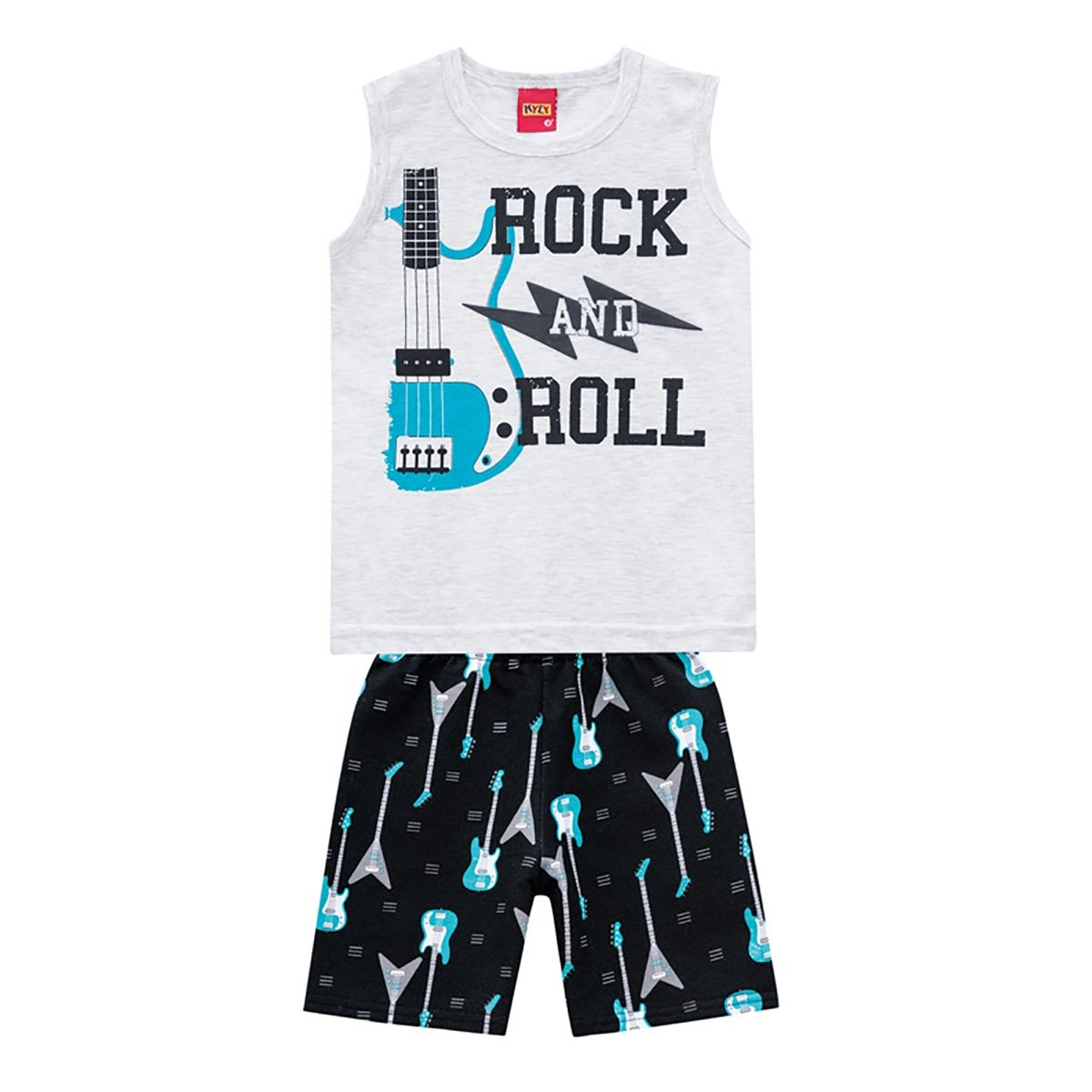 Conjunto Infantil Kyly Rock and Roll Masculino