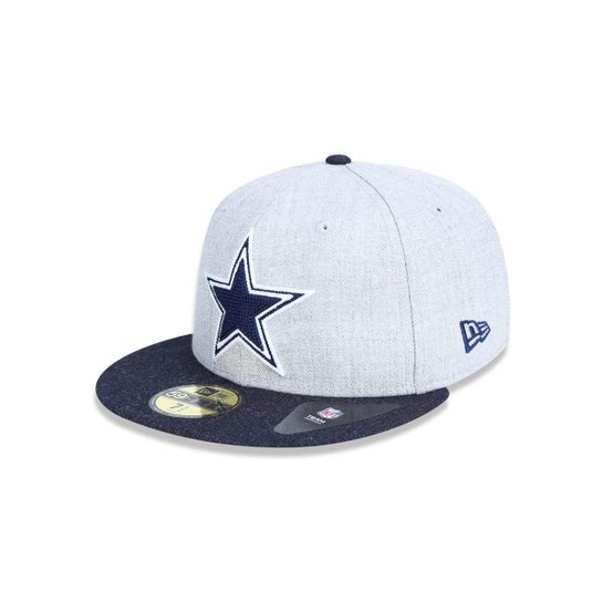 987283c83d Boné 5950 Dallas Cowboys NFL Aba Reta New Era - Mescla - Compre ...