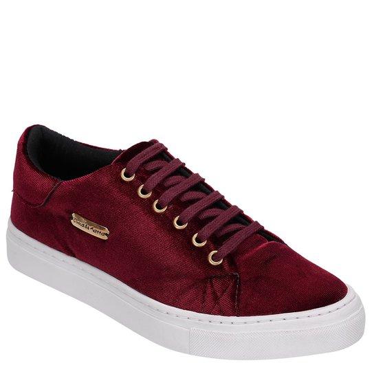 2b11af004 Tênis DR Shoes Casual Mulher - Bordô - Compre Agora