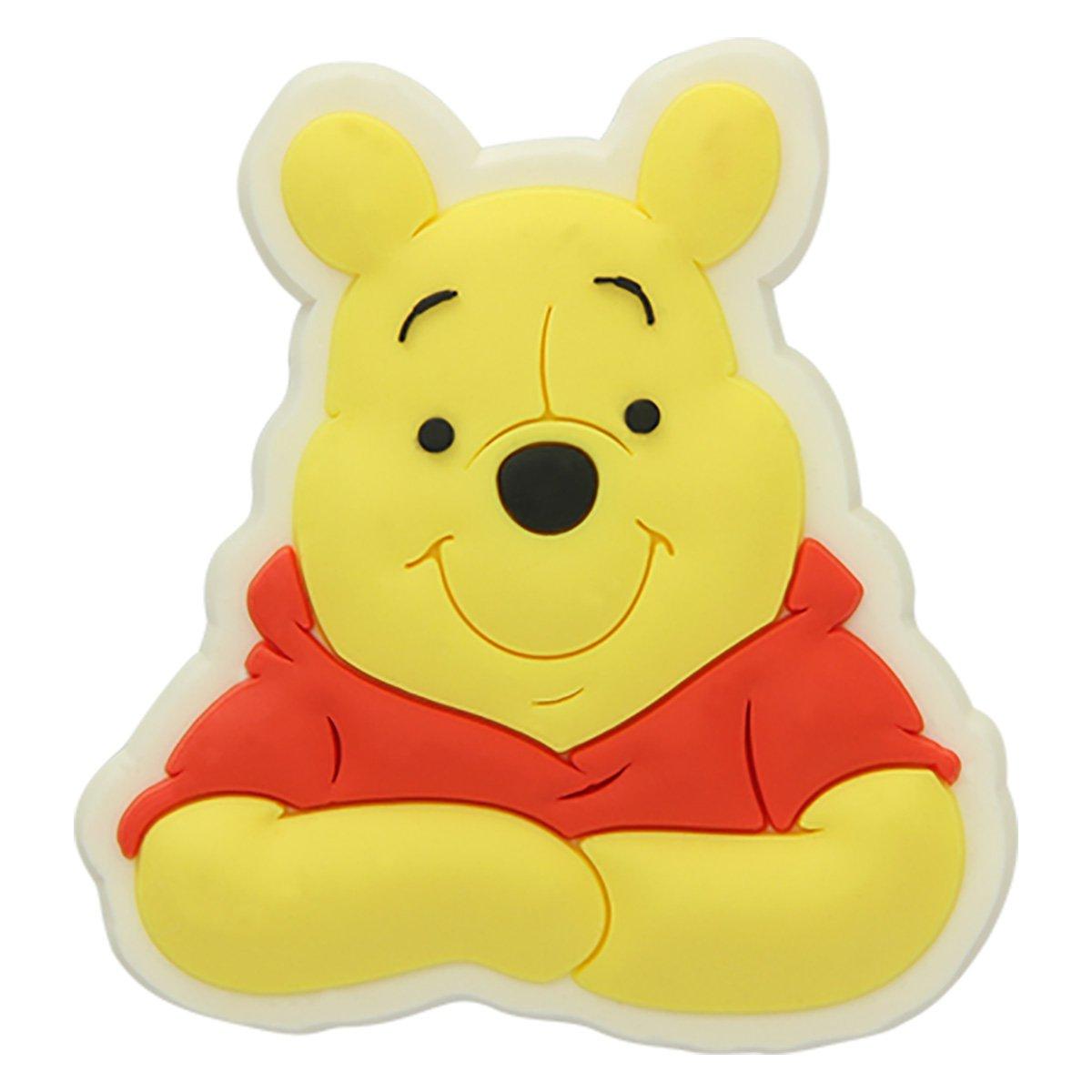 Acessório Para Crocs Infantil Jibbitz Ursinho Pooh