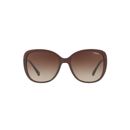 Óculos de Sol Vogue Retangular VO5154SB Feminino - Compre Agora ... 896562b766