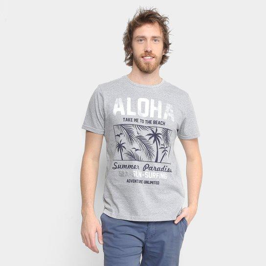 Camiseta Tigs Gola Careca Malha Masculina - Compre Agora  03abc5f500a