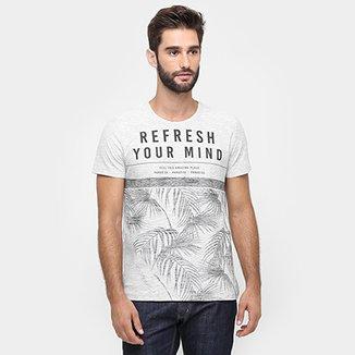 dd482c407c Camiseta Kohmar Flamê Estampada