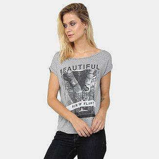 Camisetas Femininas - Ótimos Preços  434792d5efb