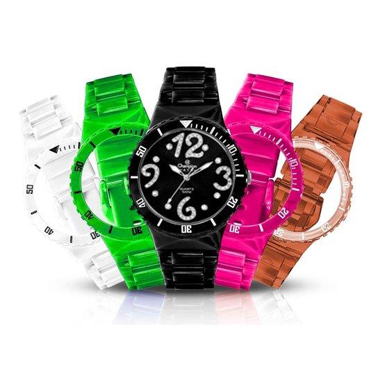 96b3e376217 Relógio Feminino Champion Analógico Troca Pulseira Kit - Compre ...