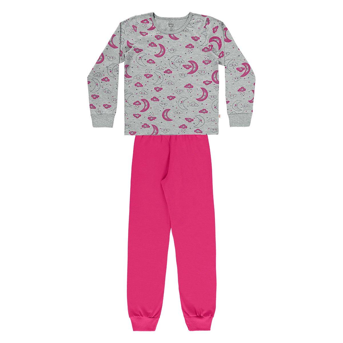 Pijama Bebê Longo Boca Grande Sonhos Feminino