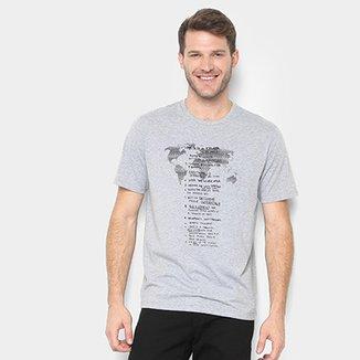 92e9d574f2 Camisetas Masculinas - Ótimos Preços