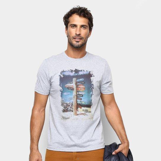 4a1797bb84263 Camiseta Treebo Destiny Masculina - Mescla - Compre Agora