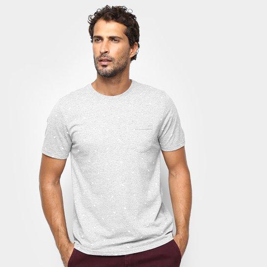 e593e9ad40bc4 Camiseta Treebo Long Neck Masculina - Mescla - Compre Agora