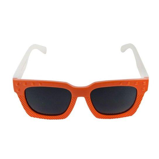 430f71d67 Óculos de Sol Khatto Infantil Funny - Laranja e Branco - Compre ...