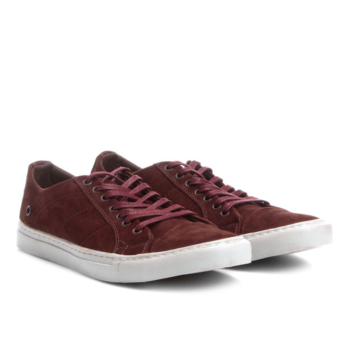 809c5b1073 Sapatênis Couro Shoestock Nobuck Color Masculino