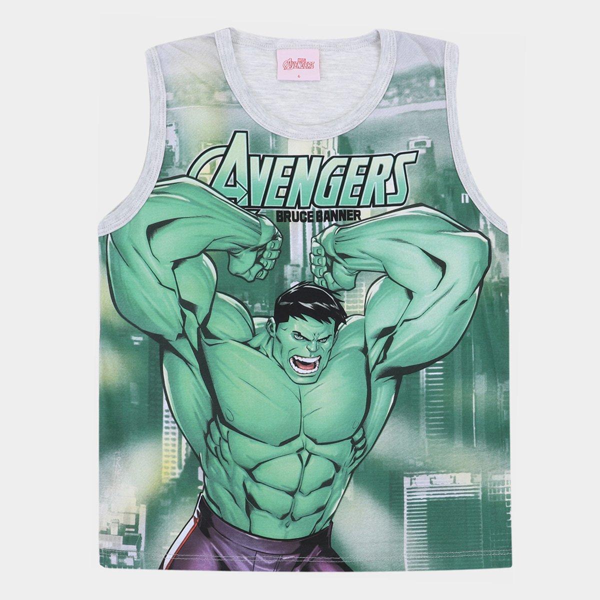 Regata Infantil Marvel Avengers Masculina