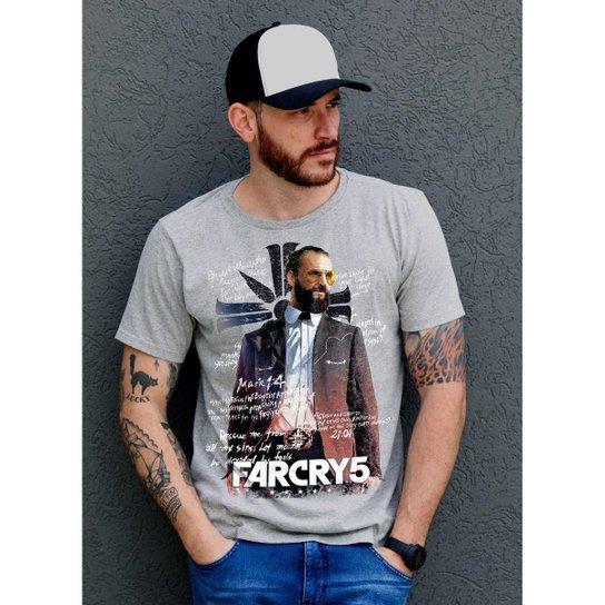 09ff476ae8b9a3 Camiseta Bandup Far Cry 5 Father - Mescla