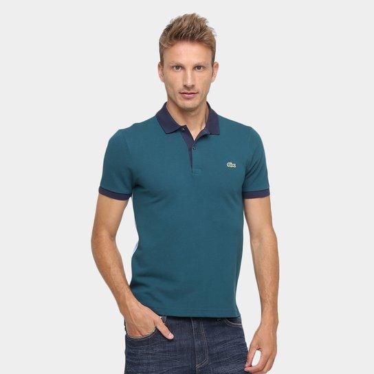 9b88f964c4fce Camisa Polo Lacoste Live Piquet Bicolor - Compre Agora   Zattini
