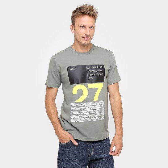 51408509f8b Camiseta Lacoste Live 27 - Compre Agora
