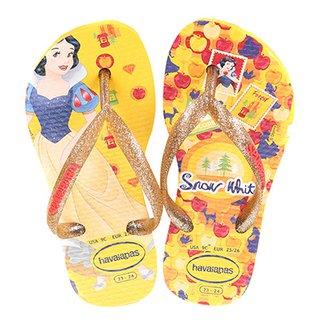 630a68d67b Sandália Infantil Havaianas Slim Disney Princesas Feminina