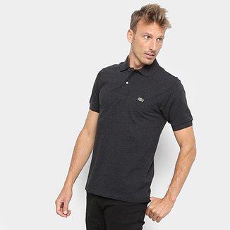 f9ef0016a3 Camisa Polo Lacoste Mescla Masculina